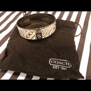 Coach Bangle Bracelet in perfect condition